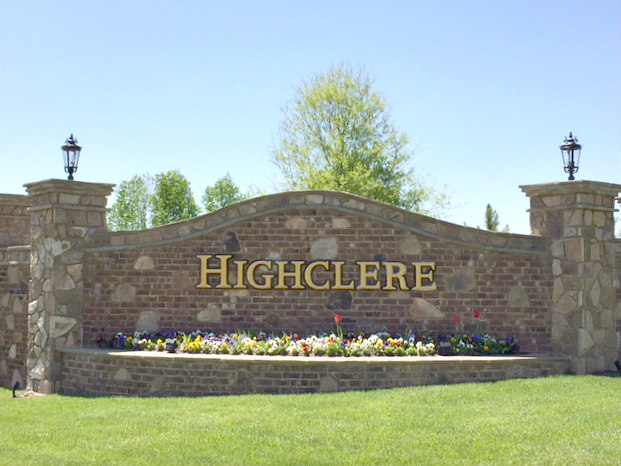Highclere sign